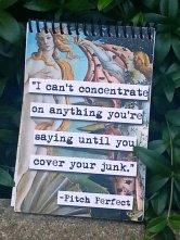 notebook calk